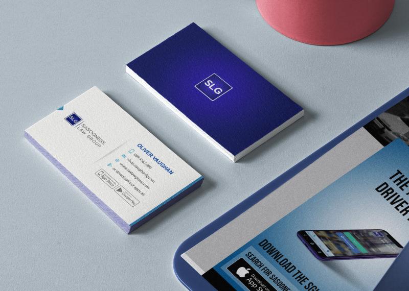 Business Cards, Accident App, Best Accident Assist App