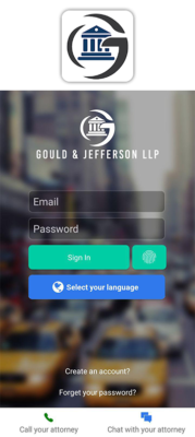 Gould & Jefferson, Accident Leads Software, Personal Injury Case, Personal injury lead, Law firm Software