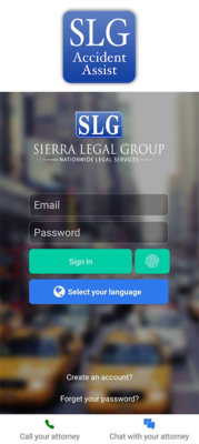 Sierra Legal Group, Accident Leads Software, Personal Injury Case, Personal injury lead, Law firm Software